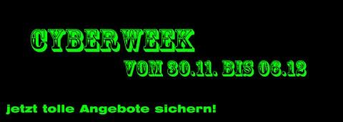 Cyberweek Angebote des Tages.