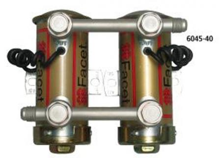 Pumpenverbinder Set D6  für Facet Benzinpumpen Silver Top