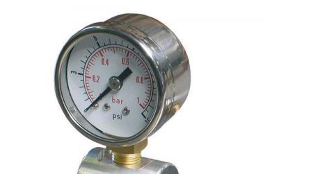 Druckprüfmanometer  0-15psi (0-1,0 bar)
