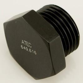 Alu-Stopfen metrisch M16x1,5