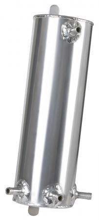 Aluminium Catchtank 1 ltr.  4 Anschlüsse Rohr 9,5mm