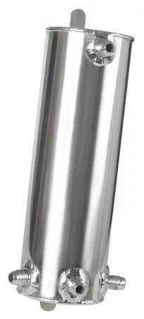 Aluminium Catchtank 1 ltr.   - 4 Anschlüsse Rohr D6