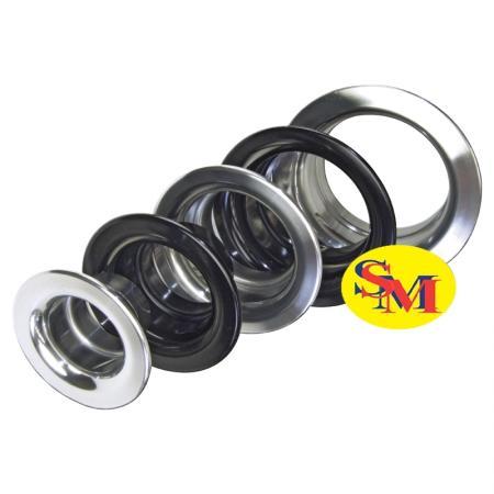 Lufteinlasstrichter schwarz oder silber  Durchmesser: 51mm, 63mm, 76mm, 89mm, 102mm