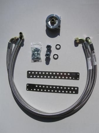 Mocal Ölkühlereinbausatz M18  Schläuche stahlummantelt