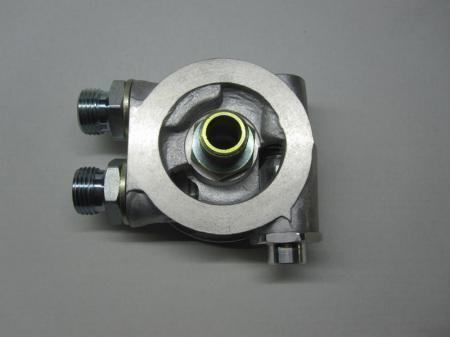 """Mocal Ölkühler Adapterplatte 3/4 Zoll Set  mit Thermostat - Set mit 1/2"""" BSP Anschlüssen"""