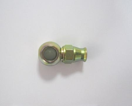 Anschluß Banjo 11mm kurz Stahl  7/16 D-04