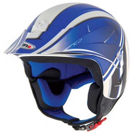 Jet Helm Shiro SH65 K2  Helmgröße: 59-60cm (Gr.L), Farbe: blau