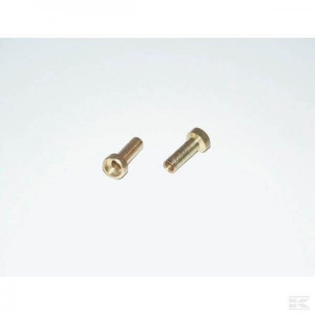 Lötnippel für Bowdenzug 2,5mm