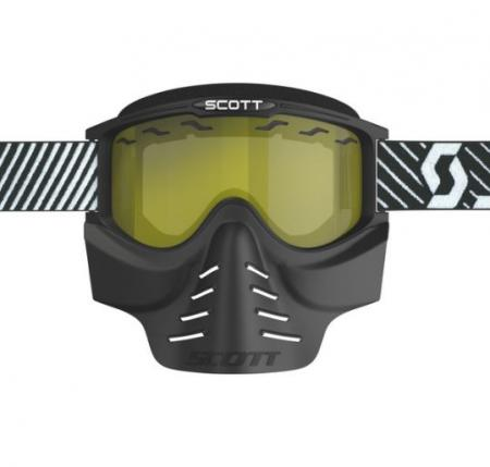 Scott 83xi Safari Vollcross Brille ohne Roll Off´s incl. Vollmaske