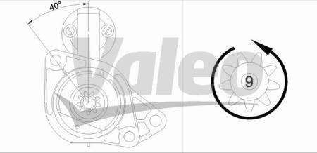 VALEO-Anlasser  Audi/VW/Seat/Skoda