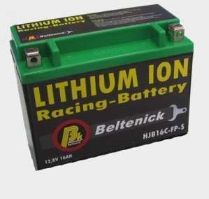 Beltenick® Rennbatterie 12V 8AH - 540CCA Lithium Ionen 1,92 kg