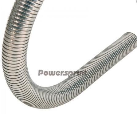 Powersprint Flexible Rohrleitung - Ø 100 mm Edelstahl