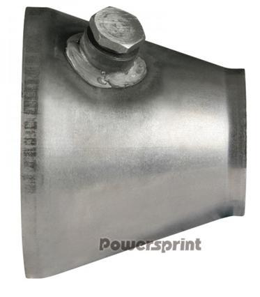 Powersprint Kat-Anschluss-Konus symmetrisch Ø innen 120mm - Ø innen 63,5mm, Lambda-Anschluss