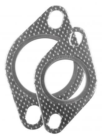 Powersprint Flanschdichtung für Ø 45mm Für 2 Loch Flansch Rohrverbinder
