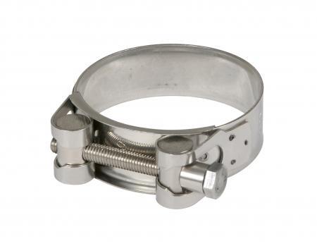 Powersprint Edelstahl Spezial-Bandschelle 40mm-43mm Ø