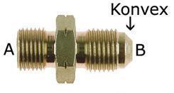 Adapter BSP - JIC 1/2x14 konkav zu 3/4UNF konvex