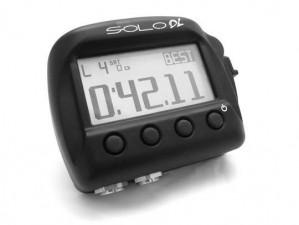 AIM Solo DL Datenlogger mit integriertem  GPS und CAN Anbindung Motorsteuergerät.