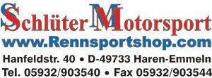 Aufkleber Rennsportshop