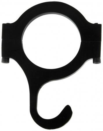 Aluminium Helmhaken  für Rohrdurchmesser 37mm bis 40 mm