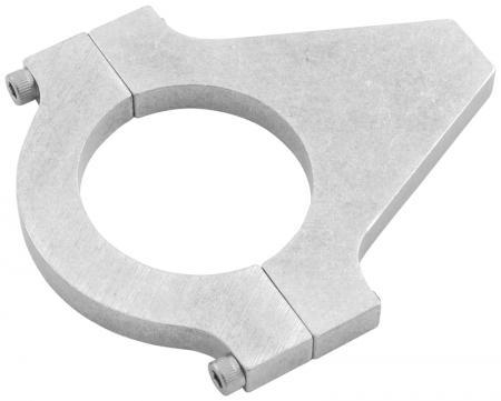 Aluminium Rohrhalter  für Rohrdurchmesser 44mm bis 47 mm