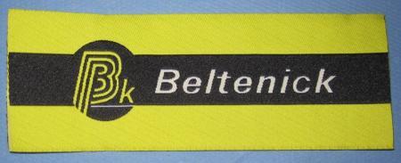 Aufnäher Beltenick 170mm x 60mm