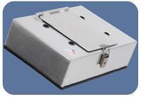 Verschlusskasten  für ATL Saver cell mit geradem Stutzen