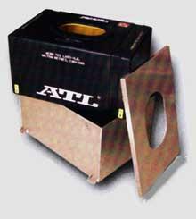 ATL Alubehälter 15gal  passend für SA115 verschraubter Deckel
