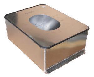 ATL Alubehälter 22gal  passend für SA122C verschraubter Deckel