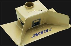 Interner Catchtank  mit Aufnahme für 1 Pumpe 40mm
