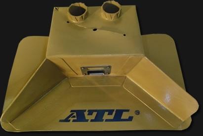 Interner Catchtank ATL mit Aufnahme für 2 Pumpen 40mm