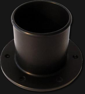 Tankstutzen gerade für FIA Ventil Durchmesser 50,8mm