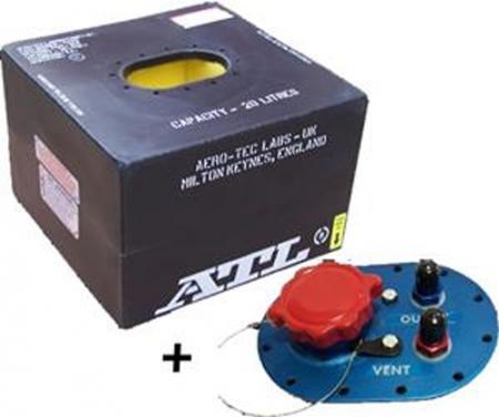 ATL Sicherheitstank  5 gal. 20 ltr. FIA FT3 zugelassen komplett mit Deckplatte