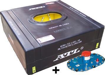 ATL Sicherheitstank 22 gal. 80ltr.  FIA FT3 zugelassen komplett mit Deckplatte