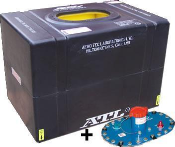 ATL Sicherheitstank 26 gal. 100ltr.  FIA FT3 zugelassen komplett mit Deckplatte