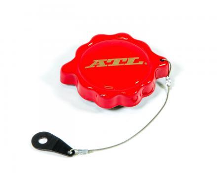 Bajonettdeckel rot  für ATL Deckplatte Stahl