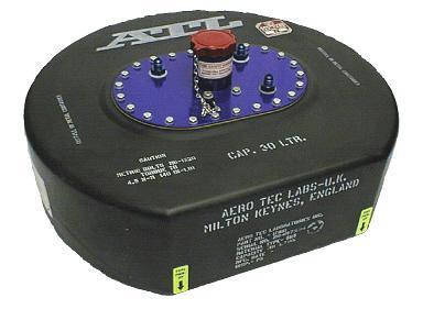 ATL Sicherheitstank 8 gal. 30ltr.  Well-Cell FIA FT3 zugelassen, ohne Catchtank