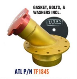 ATL Sicherheitsdeckplatte 45° Racell Aluminium  passend für RA103 / RA105