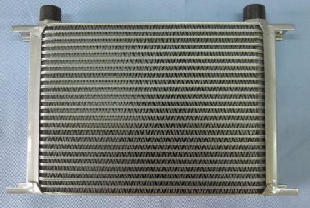 Beltenick® Ölkühler 25Reihen 330mm lang Anschluss 5/8 BSP Aussengewinde
