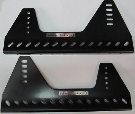 Beltenick® Alu-Konsole Seitenbefestigung  schwarz 360x216x6mm nach F.I.A