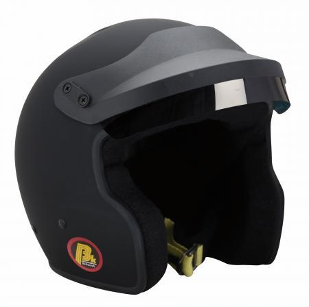Beltenick® OF Racing mit M6 Terminals schwarz  Helmgrösse: 58-59cm (Gr.L)