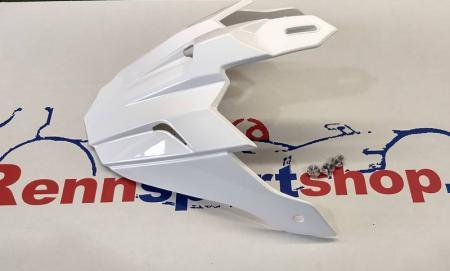 Ersatzschirm Beltenick Offroad FIA Helm weiß  mit Montagematerial