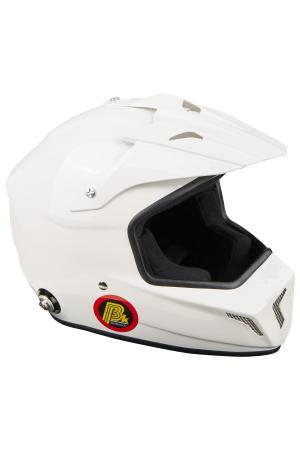 Beltenick® FIA Cross Helm mit Hans Clips Helmgrösse: 56-57cm (Gr.M)