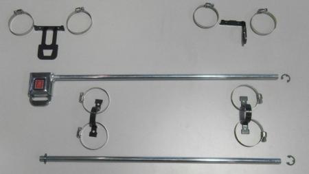 Beltenick® Hardwarekit für Fensternetz links  Seite: links