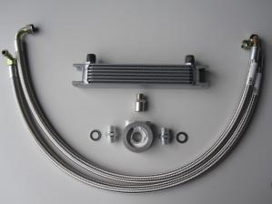 Beltenick® Ölkühler Kit bestehend aus Ölkühler und Einbausatz