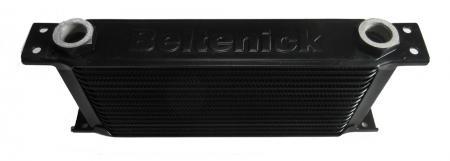Beltenick® Ölkühler M22 x1,5 330mm lang 16 Reihen (123mm) mit Adaptern
