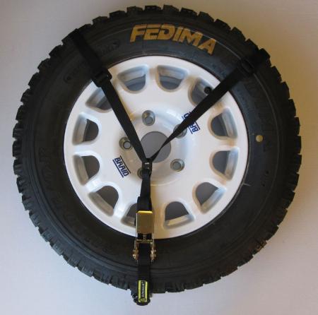 Reserveradhalter  Farbe: schwarz