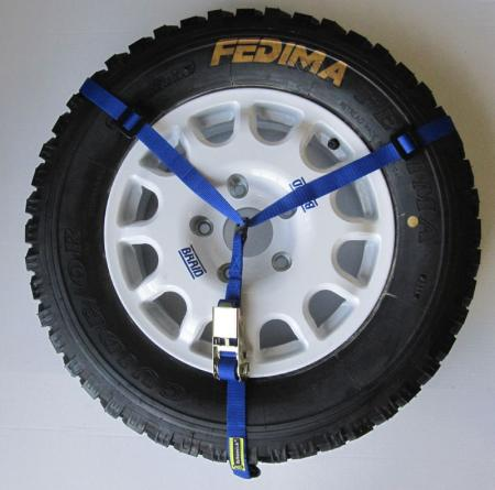 Reserveradhalter  Farbe: blau