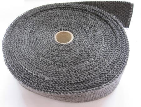 Schwarzes Graphit-Thermoband  Breite 50 mm  Länge 10 m