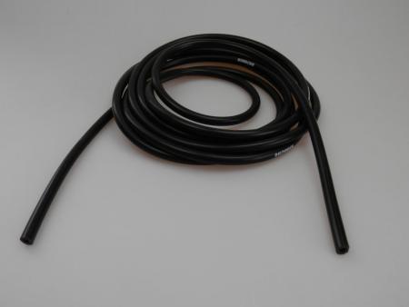 Beltenick® Unterdruckschlauch 4mm schwarz   - Meterware