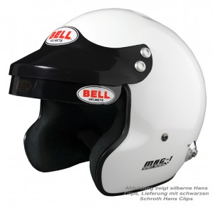 Bell Jet Helm MAG 1 FIA8859-2015  mit HANS Clips